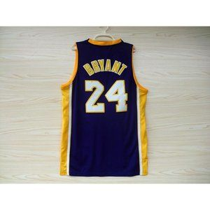 Los Angeles Lakers #24 Kobe Bryant Purple  Jersey